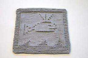 whale dishcloth pattern