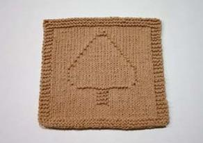 spades dishcloth pattern