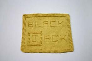 blackjack dishcloth pattern