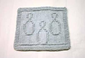 Bowling Pins Dishcloth