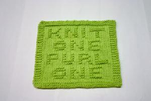 knit one purl one cloth