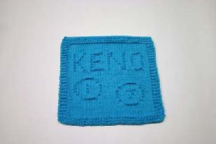 keno dishcloth pattern