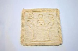 ghost dishcloth pattern