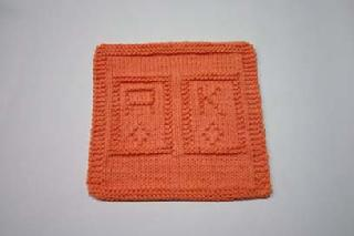 ace and king dishcloth pattern