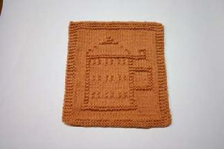 stein dishcloth pattern