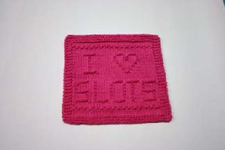 slots dishcloth pattern