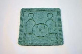 bowling dishcloth pattern