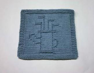 golf bag dishcloth pattern