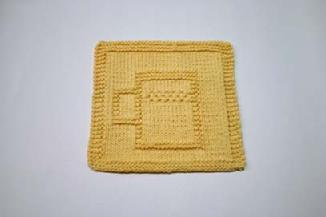 mug dishcloth pattern
