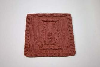 hurricane lamp dishcloth pattern