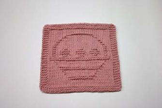 basket dishcloth pattern